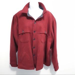 Woolrich Red Fall Jacket Coat 1x/2x